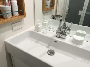 せまい洗面台まわりを快適にするために