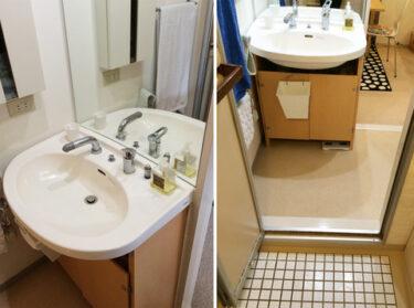 【洗面室】ちょうどいい洗面台探し